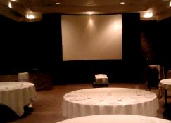 Conference AV setup