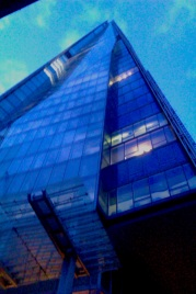 The Shard, Pre opening Laser & architectural light show